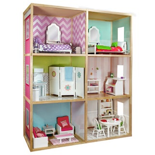 Wicked Cool Toys My Girl's Dollhouse for 18'' Dolls Modern Style