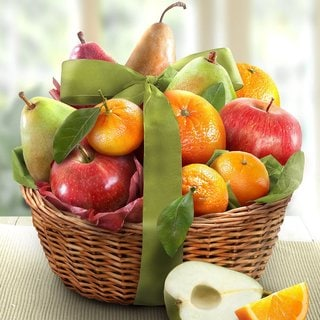 Link to California Fruit Harvest Very Best Fruit Gift Basket Similar Items in Gourmet Food Baskets