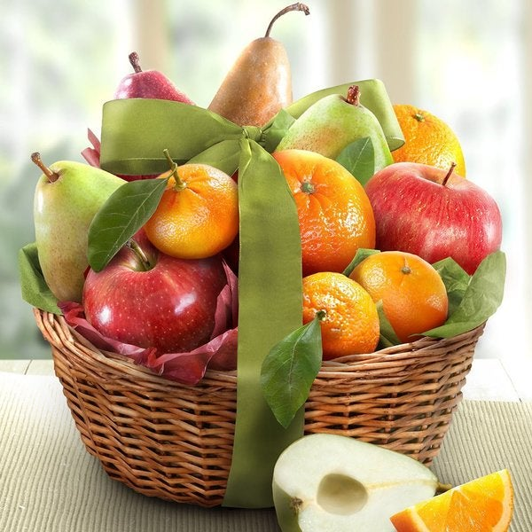 California Fruit Harvest Very Best Fruit Gift Basket. Opens flyout.