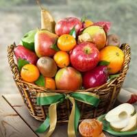 California Fruit Harvest Gift Basket