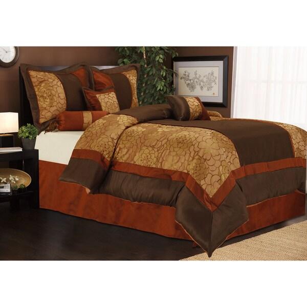 nanshing sibyl 7 piece bedding comforter set free shipping today