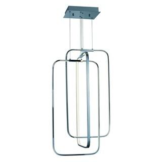 Squared LED Pendant Light Fixture