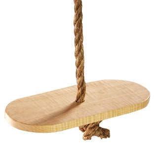 Adventure Parks Classic Maple Wood Swing Disc