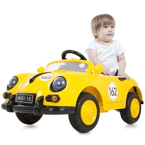 Lil' Rider '58 Speedy Sportster Classic Car with Remote - Yellow