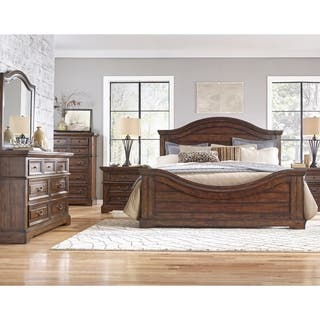 rustic bedroom furniture sets. Lakewood Panel 5 piece Bedroom Set by Greyson Living Rustic Sets For Less  Overstock com