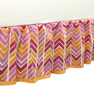 True Baby Sunshine Bed Ruffle Chevron