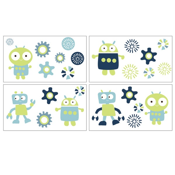 True Baby Space Bot Wall Decals