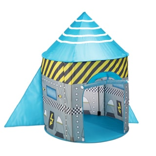Fun2Give Pop-it-up Space Rocket Play Tent  sc 1 st  Overstock.com & Pacific Play Tents Rocket Ship Pavilion - Free Shipping Today ...