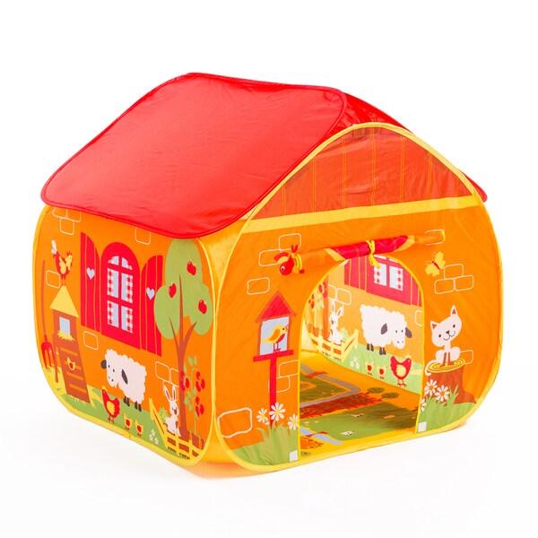 Fun2Give Pop-it-up Farm Play Tent