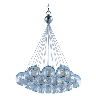 Reflex 19-light LED Polished Chrome Single Pendant Light
