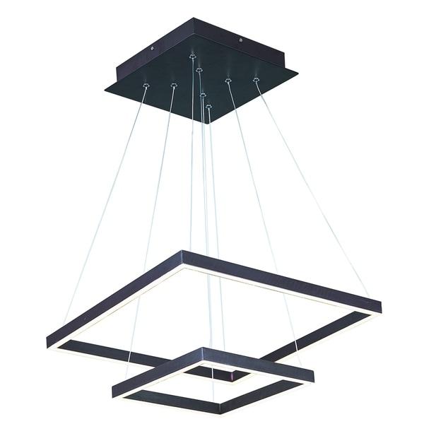 Shop Quad LED Bronze Single Pendant Light