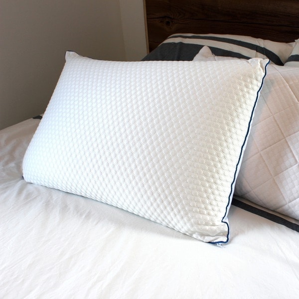Reverie Cool Down and Feather Pillow with Memory Foam Cover