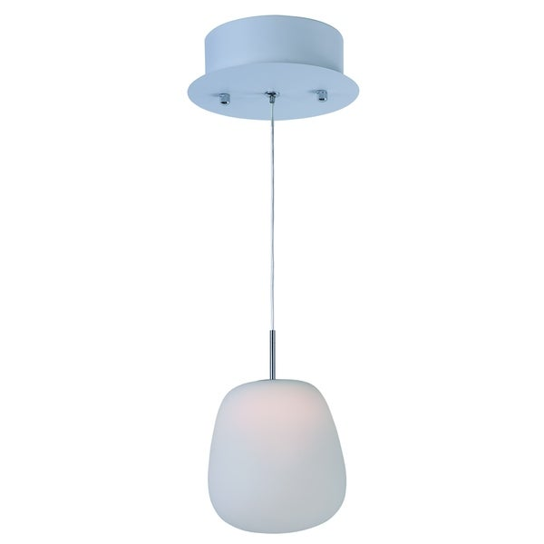 Puffs Single Pendant Light Fixture - Free Shipping Today - Overstock ...