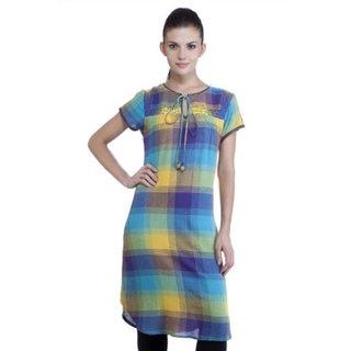 Link to Handmade MB Women's Ethnic Yarn Dyed Check Kurta Tunic (India) Similar Items in Intimates