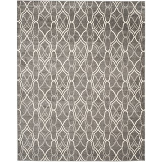 Safavieh Indoor/ Outdoor Amherst Grey/ Light Grey Rug (11' x 16')