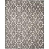Safavieh Indoor/ Outdoor Amherst Grey/ Light Grey Rug - 11' x 16'