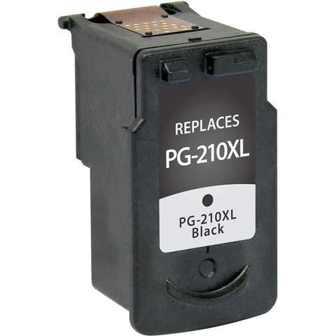 V7 Remanufactured High Yield Black Ink Cartridge for Canon PG-210XL - 401 page yield