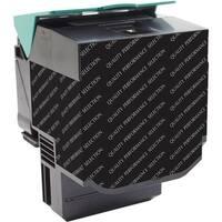 V7 Remanufactured High Yield Black Toner Cartridge for Lexmark C540/C