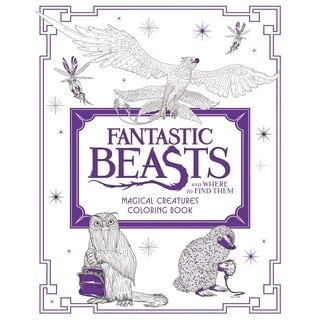 Fantastic Beasts and Where to Find Them: Magical Creatures Coloring Book (Paperback)