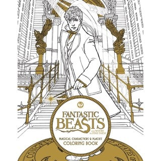 Fantastic Beasts and Where to Find Them: Magical Characters and Places Coloring Book (Paperback)