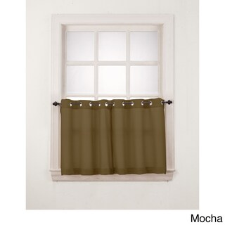 No. 918 Montego Grommet Window Tier Pair (2 options available)