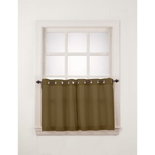 Copper Grove Speedwell Grommet Window Tier Pair