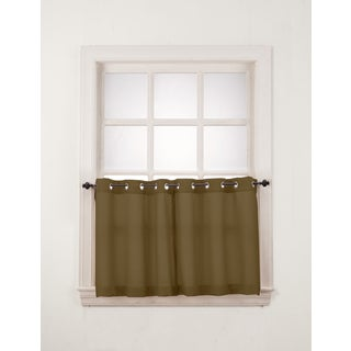 No. 918 Montego Grommet Window Tier Pair