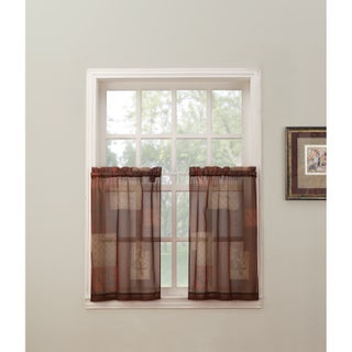 No. 918 Eden Rod Pocket Window Tier (Pair) (2 options available)
