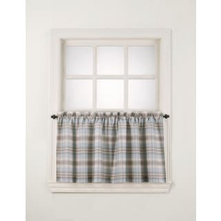 No. 918 Dawson Rod Pocket Window Tier (Pair)