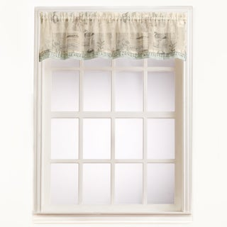 No. 918 Seascape Rod Pocket Window Valance