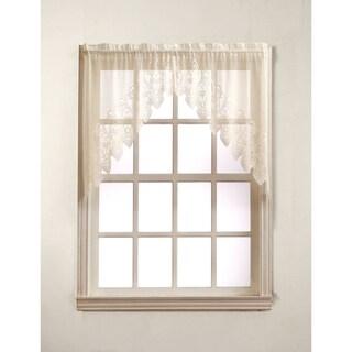 No. 918 Joy Kitchen Set Rod Pocket Window Swag (Pair)