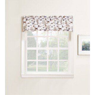 No. 918 Forest Friends Rod Pocket Window Valance
