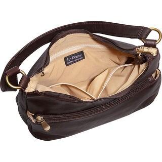 LeDonne Leather Astaire Hobo Handbag