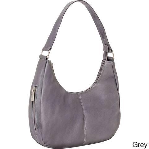 LeDonne Leather Classic Hobo Handbag