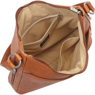 LeDonne Leather Bella Hobo Handbag