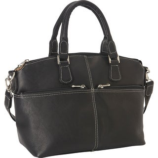 LeDonne Leather Classic Satchel Handbag