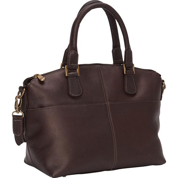 LeDonne Leather Esperanto Satchel Handbag