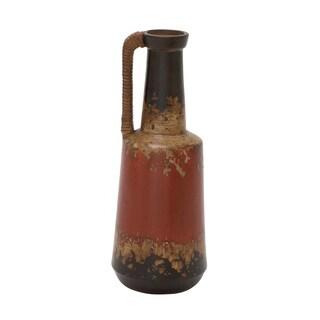Ceramic Rattan Handle Pot 6-inch x 17-inch