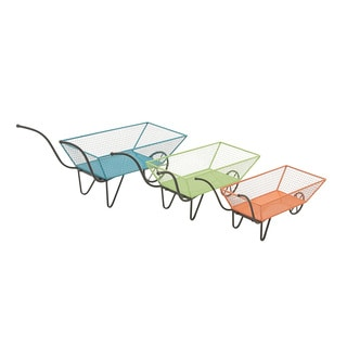 Metal Cart (Set of 3) 29-inch/ 32-inch/ 38-inch