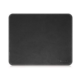 Insten PU Leather/ Rubber Mouse Pad for Optical or Trackball Mouse (Option: Black)