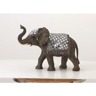 Polystyrene Mirror Elephant 14-inch x 10-inch - Thumbnail 0