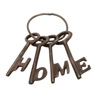 Aluminum Bronze Home Key (Set of 4) 4-inch/ 7-inch