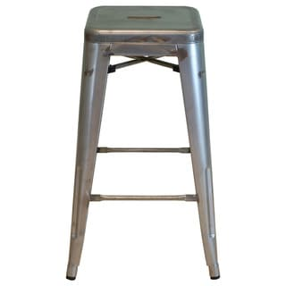 Metal Style Stackable Bar Stool