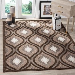 Safavieh Cottage Light Brown/ Brown Rug (4' x 6')