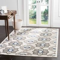 Safavieh Cottage Grey/ Dark Grey Rug (4' x 6') - 4' x 6'