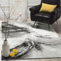 Safavieh Glacier Contemporary Abstract Grey/ Multi Area Rug - 2' 7 x 5'
