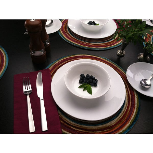 Corelle Livingware Winter Frost White Dinner Plate (Set of 6)