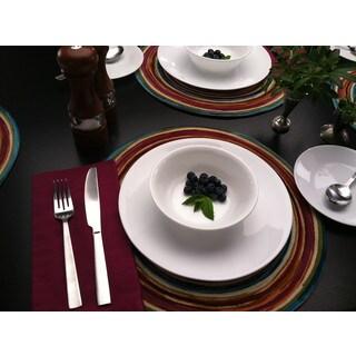 Corelle Livingware Winter Frost White Dinner Plate (Set of 6)