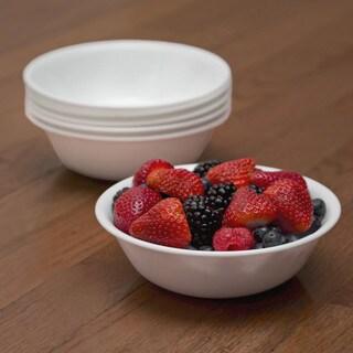Corelle Livingware Winter Frost White Soup/Cereal Bowls (Set of 6)