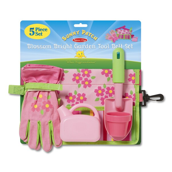 Melissa & Doug Garden Tool Belt Set